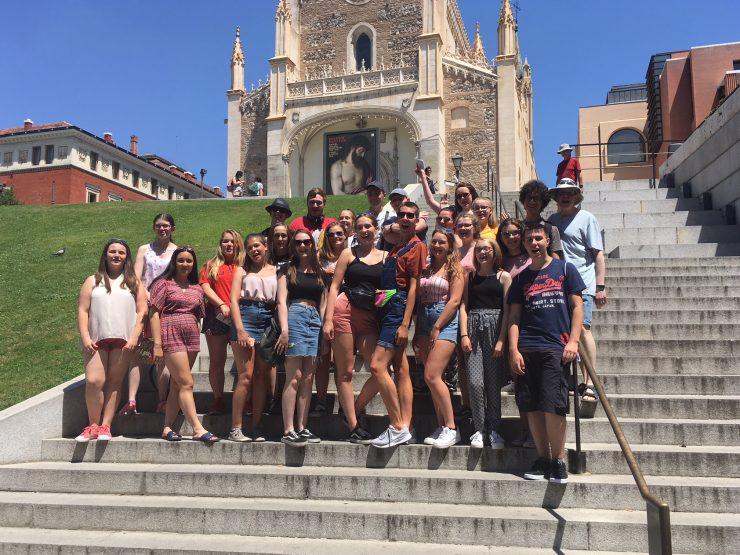 Madrid 2018 – the Bolton Youth Harmonies Tour