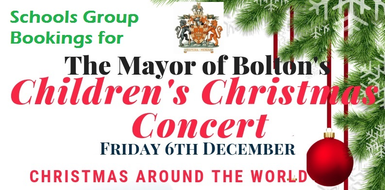 Christmas Concerts 2019 Near Me The Mayor of Bolton's Children's Christmas Concert 2019 – Schools